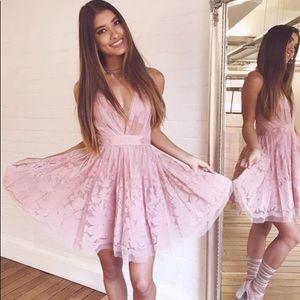 ❤︎ SHOWPO Rose Pink Princess Dress